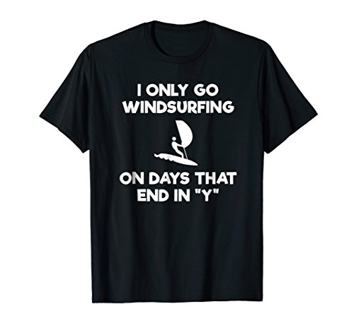 Windsurfing Funny T-Shirt - Days ()