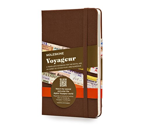 Moleskine Voyageur Traveller's Notebook, Hard Cover, Nutmeg Brown (4 x 7)