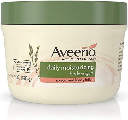 Aveeno Active Naturals Daily Moisturizing Body Naturals Apricot and Honey Lotion, 7 oz, Pack of 2