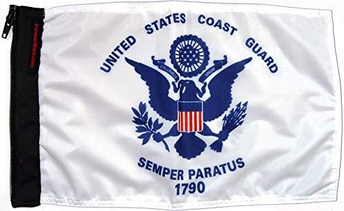 Forever Wave Coast Guard Flag B07K2BT68B