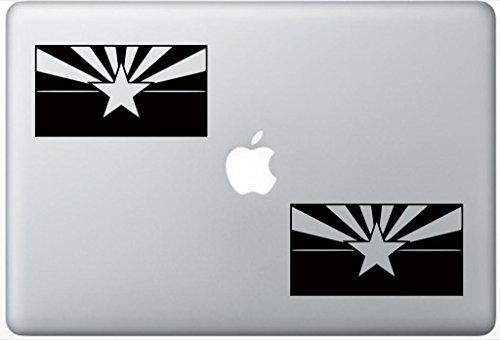 Arizona Flag ArcDecals78600100 Set Of Two (2x) , Decal , Sticker , Laptop , Ipad , Car , Truck -