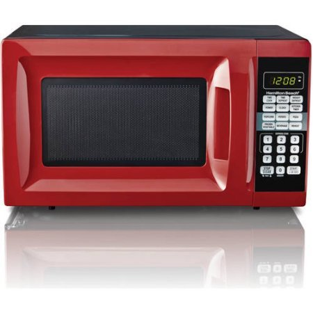 Purchase HB 700 Watt Microwave, .7 cubic foot capacity (Red)