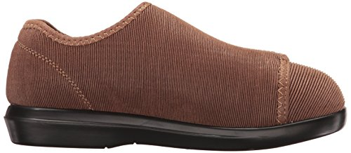 Propét Womens Cush N Foot Slipper Sand Corduroy