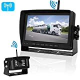 "iStrong Digital Wireless Backup Camera System for RV/Truck/Trailer/5th Wheel/Motorhome Range 450ft No Flickers with 7"" Monitor Kit Rear/Front/Side View Camera Guide Lines ON/OFF IP69 Waterproof Review"
