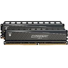 Ballistix Tactical 16GB Kit (8GBx2) DDR4 2666 MT/s (PC4-21300) DIMM 288-Pin Memory - BLT2K8G4D26AFTA