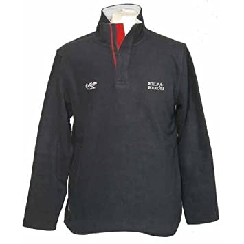 afb7278bc22 Cotton Traders Help For Heroes Rugby Sweatshirt Navy - 3XL: Amazon ...