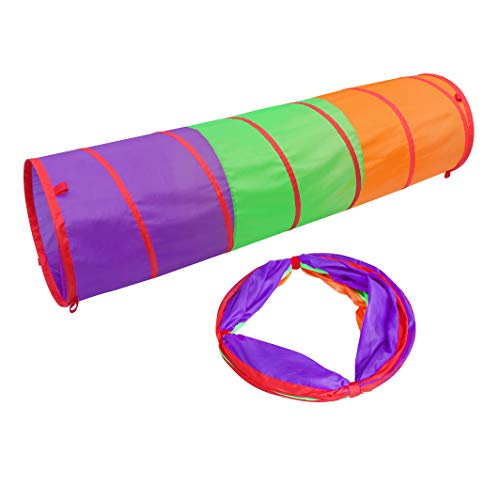 41jz62s0W3L - Sunny Days Entertainment 6-Foot Assembly-Free Adventure Play Tunnel for Kids Indoor & Outdoor Pop-Up Crawl Toy