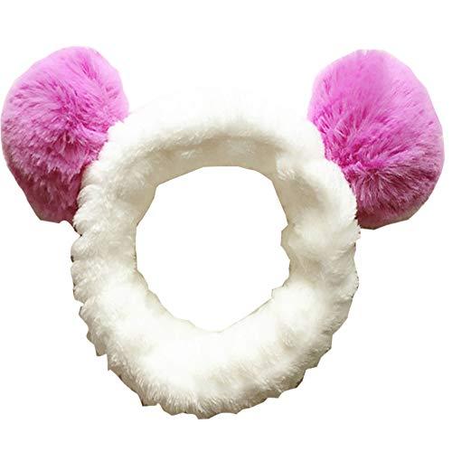 Accesorios para el cabello para lavado de cara, ducha, maquillaje, Spa Fashion Cute Ear Headband #06