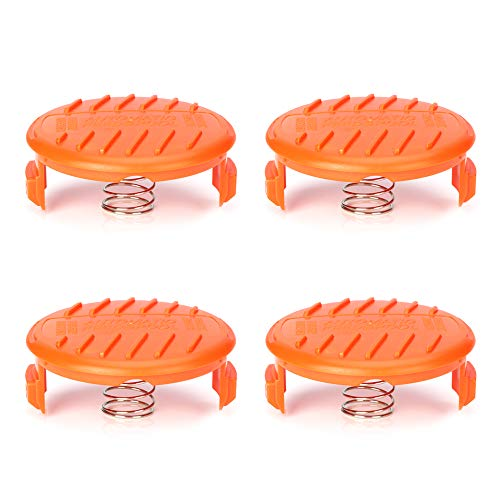 - OFPOW Trimmer Replacement Spool Cap & Spring Compatible with Black+Decker, 4 Pack