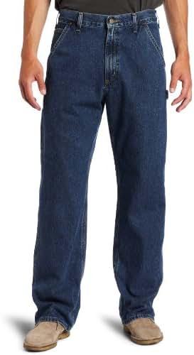 Carhartt Men's Washed Denim Original Fit Work Dungaree B13