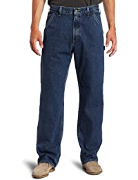 Men's Washed Denim Original Fit Work Dungaree B13