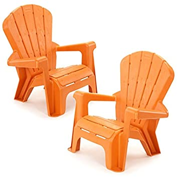 Superb Kids Or Toddlers Plastic Chairs 2 Pack Bundle,Use For Indoor,Outdoor, Inside
