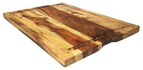 Mountain Woods 22 X 15 Sheesham Cutting Board W/Juice Groove