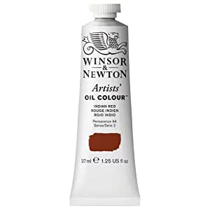 Winsor & Newton Artists Oil Color Paint Tube, 37ml, Indian Red