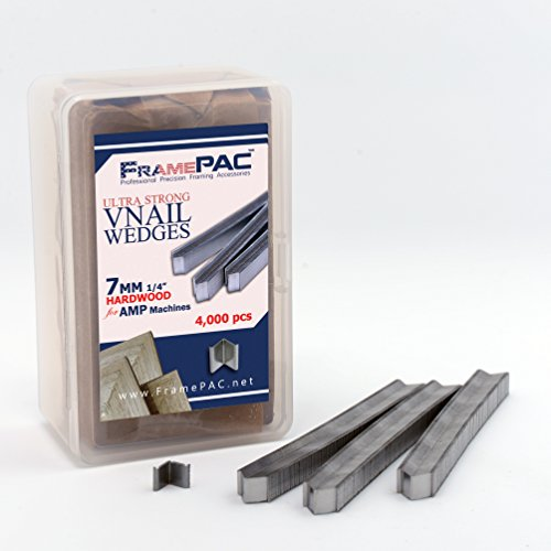 V Nails for Picture Framing - Ultra Strong - 7mm (1/4 for sale  Delivered anywhere in USA