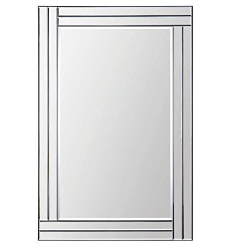 Ren-Wil MT1284 Baton Rouge Wall Mount Mirror by Kelly Stevenson and Jonathan - Bathroom Rouge Mirrors Baton