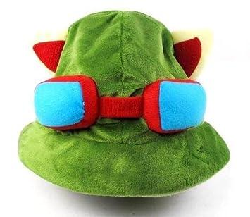 Amazon.com: Cyqun(TM) League Of Legends Lol Teemo Cosplay Cute Hat ...