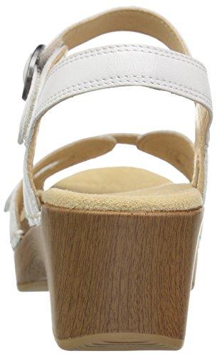 Sandalo Piatto Donna Stagione Dansko Bianco