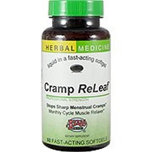 Herbs Etc. Cramp ReLeaf -- 60 Softgels