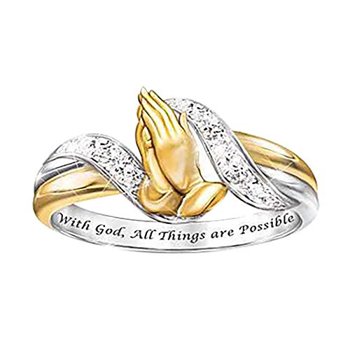Mother's Day Ring Animal Shaped Women Wedding Party Jewelry Size 5-10 (6, M)
