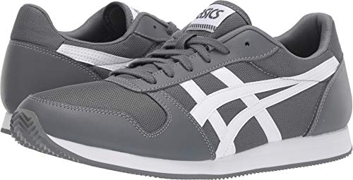 - ASICS Tiger Unisex Curreo II Steel Grey/White 12 Women / 10.5 Men M US
