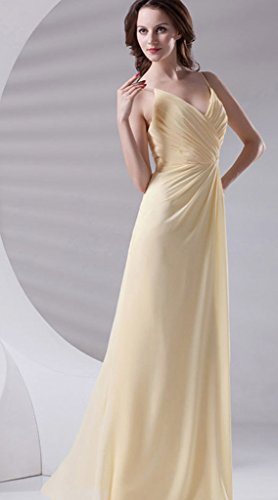 Vimans Amarillo Para Vestido Mujer Trapecio 46 767Tqr
