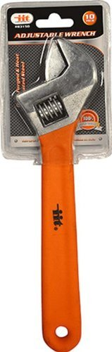 IIT 83150 10-Inch Adjustable Wrench with Grip by IIT