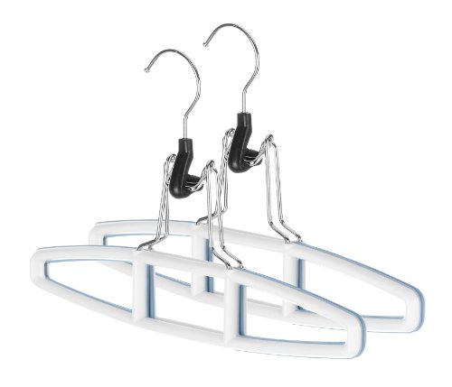 Whitmor Sure-Grip Hanger Collection Slack Hangers, Set of 2