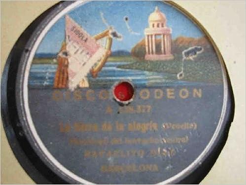 Antiguo Disco Pizarra - Old Slate Disc : Rafaelito Diaz : La ...