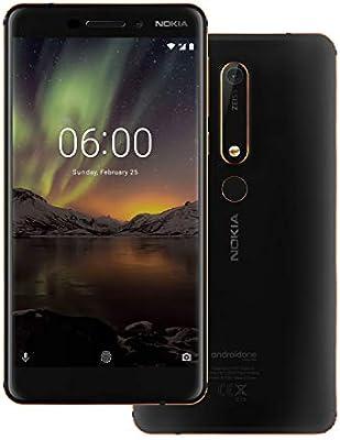 Nokia 6 1 TA-1043 Dual SIM - 32GB, 3GB RAM, 4G LTE, Black