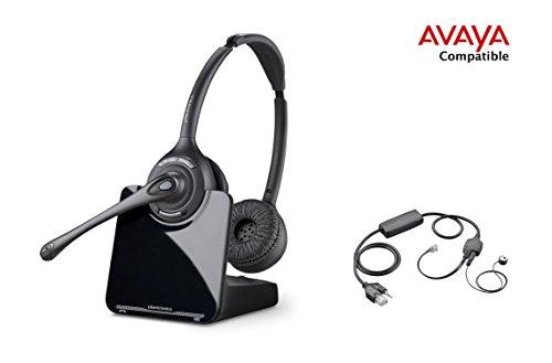 Compatible Plantronics Wireless Headset Electronic