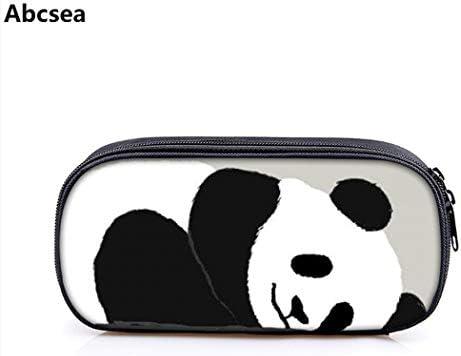 Abcsea 1 pieza panda estuche lapices organizador Estuche Escolar, portalápices estuche de grande capacidad, lápiz bolsa con cremallera Caja de lápiz, Bolsa Para Lápices(estilo 2): Amazon.es: Oficina y papelería