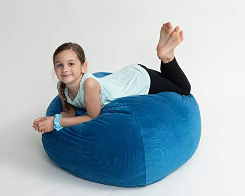 XL Stuffed Animal Storage Bean Bag Chair For
