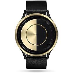 ZIIIRO Lunar Unisex Watches Gold
