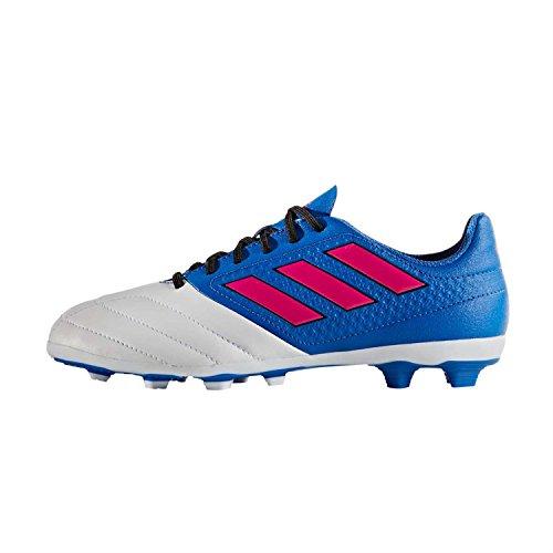 Adidas Ace 17,4 Fxg J, Bb5593, Sapatos De Futebol Para Crianças, Rosa Azul / Choque / Branco, Gr. 32