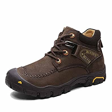 Amazon.com | DEKESEN Men's Fur Lined Warm Winter Hiking