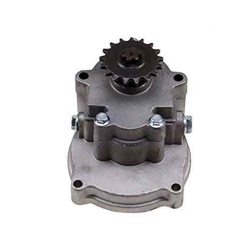 WPHMOTO Transmission Gearbox 17 Tooth T8F Sprocket For 2-Stroke 47cc 49cc Pocket Dirt Bike Mini ATV Go Kart Chopper ()