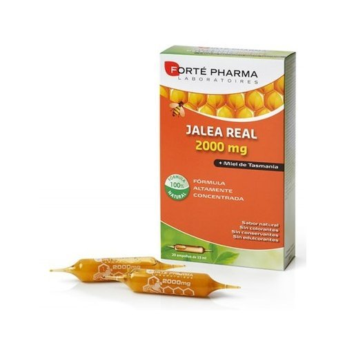 Revital Jalea Real 2000 Mg 20 Ampollas de Pharma Otc: Amazon.es: Salud y cuidado personal