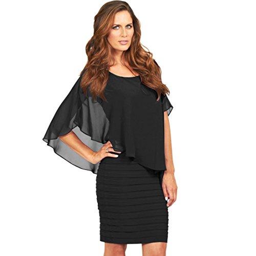 schwarz schwarz 51027 BLACK Kleid BLACK Kleid SONYA SONYA 51027 Kleid HAWwcSEA1q