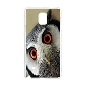Samsung Galaxy Note 4 Cases Owl 2, Owl [White]