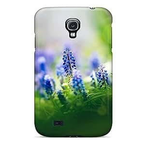 Galaxy S4 Case Bumper Tpu Skin Cover For Muscari Flowers Accessories