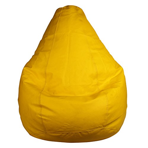 Eloisa XXL Size Bean Bag  Yellow  WITHOUT BEANS
