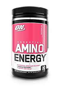 Optimum Nutrition Amino Energy Watermelon Anytime Energy and Amino Acids, 30 Servings