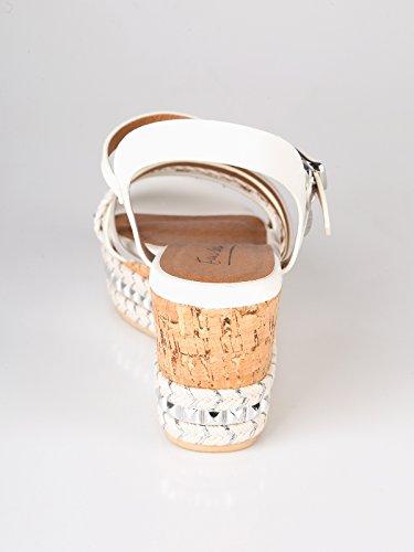 Enrico Coveri Women's Fashion Sandals White Bianco yaQy7tRn