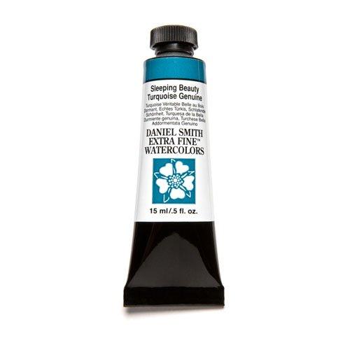 Daniel Smith Extra Fine Watercolor 15ml Paint Tube, Sleeping Beauty Turquoise (Southwest Paint)