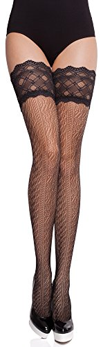 Merry Style Mujer Hold Ups MS 249 Negro