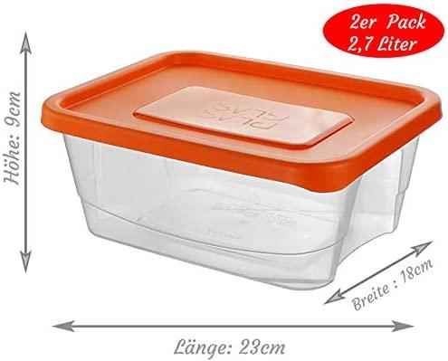my-goodbuy24 - Recipiente hermético, BPA, Apto para lavavajillas ...