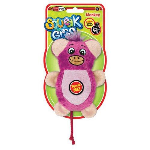 Squeak Grrs – Small Monkey, My Pet Supplies