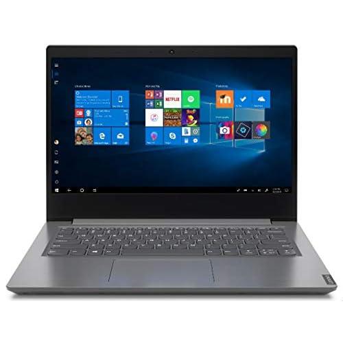 """Lenovo V14 - Ordenador portátil 14"""" HD (Athlon 3020E, 4GB RAM, 128GB SSD, UMA Graphics, Windows 10 Pro), Color gris - Teclado QWERTY español a buen precio"""