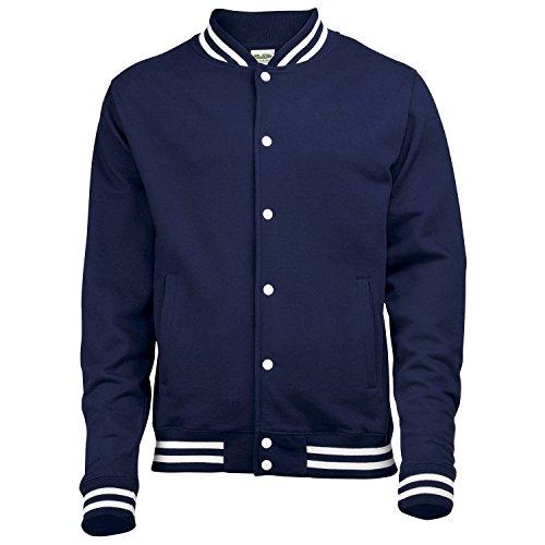 AWDis Hoods College jacket Oxford Navy M